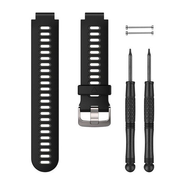 Black/Gray Watch Band
