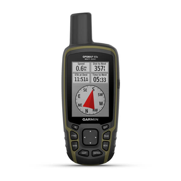 GPSMAP® 65s Multi-Band/Multi-GNSS Handheld with Sensors