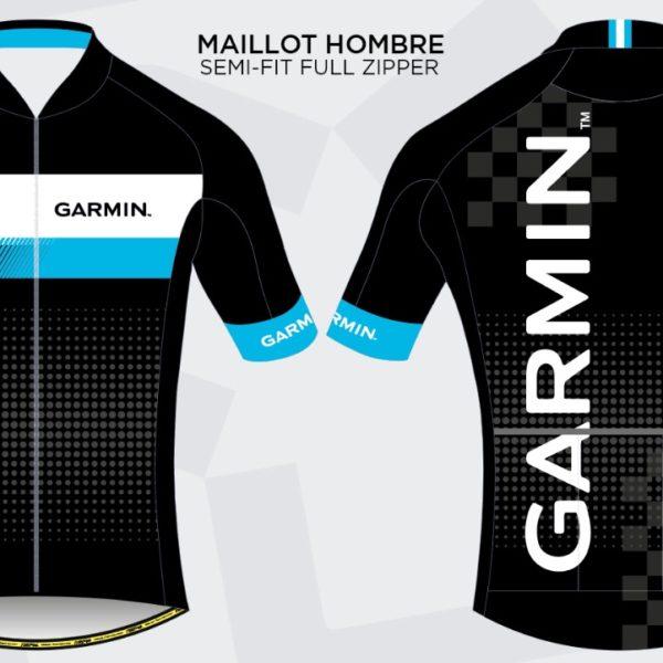 Maillot Garmin Full-Fit  –  By Nino Sports